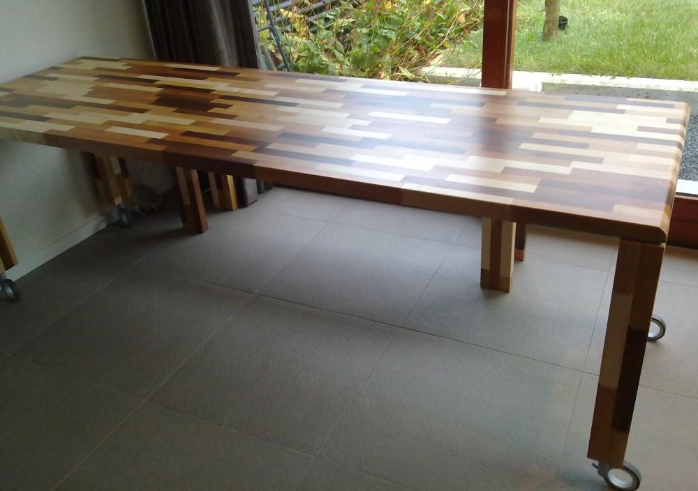 Mixed Wood Tafelblad.Tafels Diks Design