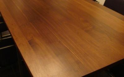 Massief kersenhouten tafelblad