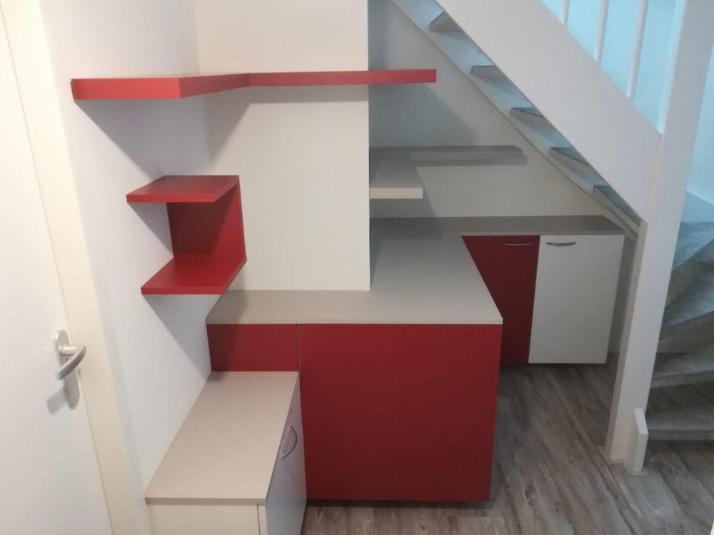 Schoenenkast Onder Trap.Entree Diks Design