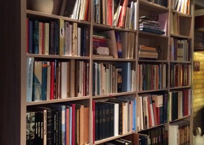 Boekenkast, gemelamineerde plaat