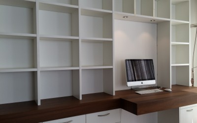 Boekenbureaukast, detail