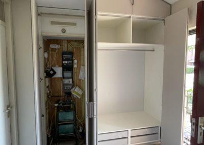 Diks Design, meubelmaker, design meubelen, garderobekast, op maat