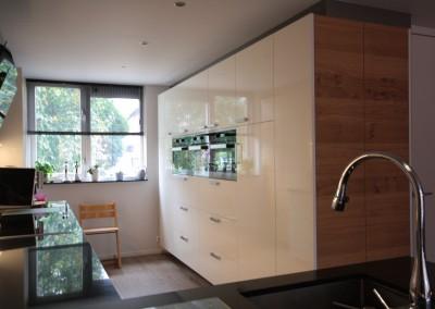 Op maat gemaakte keuken - Apparatenkast hoogglans gespoten