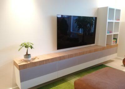 Diks Design, meubelmaker, design meubelen, Tv-meubel, speakerdoek
