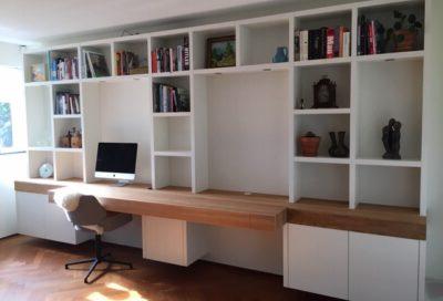 Diks Design, meubelmaker, design meubelen, boekenbureaukast