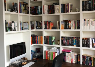 Diks Design, meubelmaker, design meubelen, boekenkast, bureau, thuiswerkplek, thuiswerken