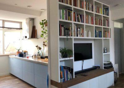 Diks Design, meubelmaker, design meubelen, boekenkast