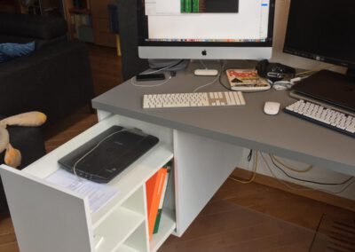 Diks Design, meubelmaker, design meubelen, thuiswerken, bureau, werkplek