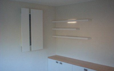 CD-kast met dressoir