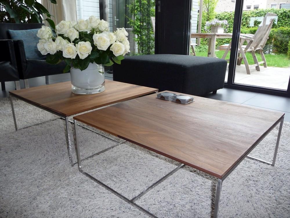 De tafels zijn gemaakt van massief hout of MDF en soms ook in ...