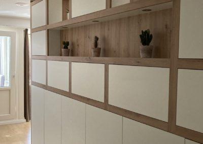 Diks Design, meubelmaker, design meubelen, scheidingswand, wandmeubel, op maat