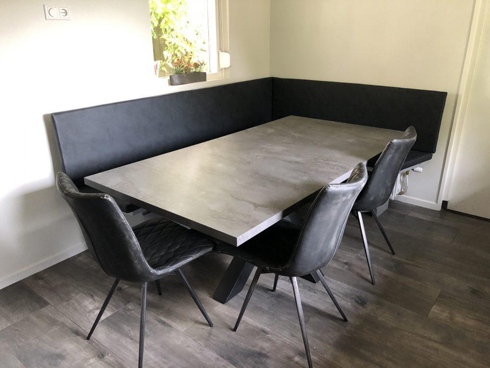 Bank Voor Aan Eetkamertafel.Tafels Diks Design