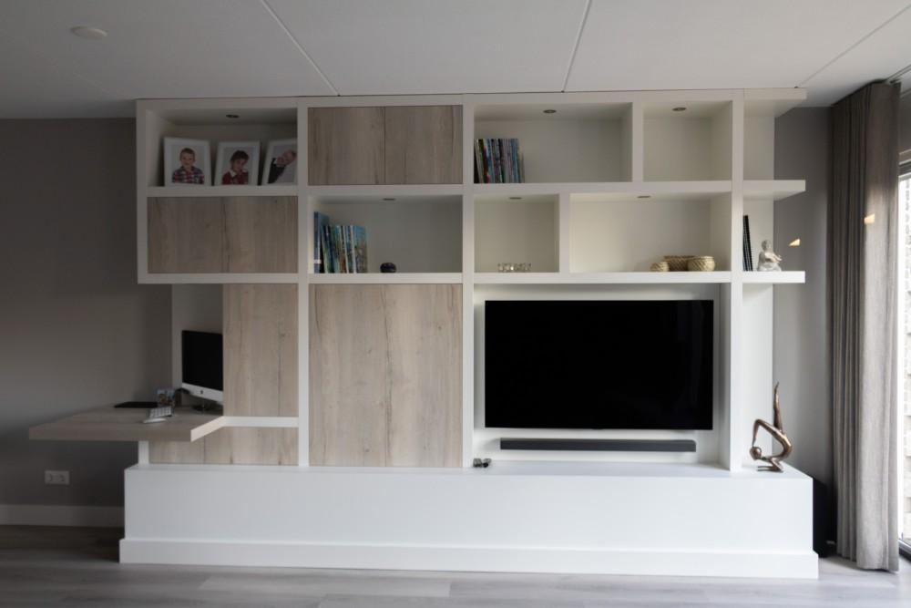 Wandmeubel Met Bureau.Wandmeubelen Diks Design
